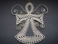 Doily Art, Types Of Lace, Bobbin Lace Patterns, Lacemaking, Lace Heart, Lace Jewelry, Lace Design, Irish Crochet, String Art
