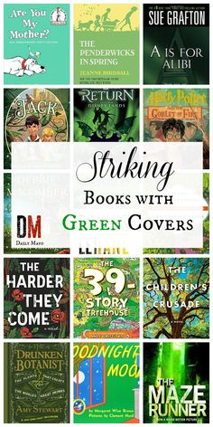 Want to build a reading rainbow? Make sure to add these 15 striking books with green covers to your collection!
