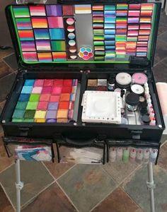 35 Best Craft Go Paint Station Ideas Images Face Paint Set Face