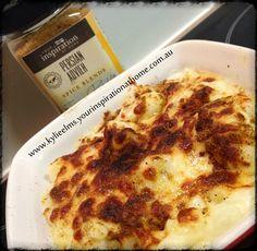 YIAH Cheesy Persian Cauliflower Bake  http://www.kylieelms.yourinspirationathome.com.au/