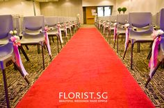 The ceremonylove how just the aisle chairs have a coverral the ceremonylove how just the aisle chairs have a coverral blooms pinterest wedding junglespirit Images