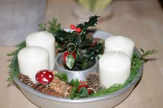 Good Ideas For You   Advent Candle Decoration