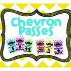 This packet is a set of classroom passes with the Chevron and Mustache theme. It includes 6 passes: Boys bathroom, Girls bathroom, gender friendly ...