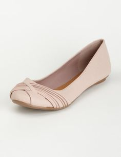 Pink ballet flat from Charlotte Russe