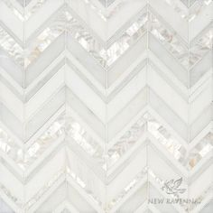 Magdalena, a handmade mosaic shown in polished Shell, Thassos, Dolomite and Afyon White, is part of the Aurora™ Collection by Sara Baldwin for New Ravenna.-this is my backsplash! Home Renovation, Home Remodeling, Kitchen Remodeling, Sicis Mosaic, Ravenna Mosaics, New Ravenna, Mawa Design, Stone Mosaic, Kitchen Tiles