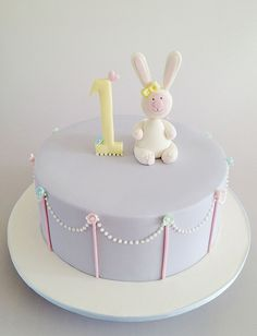 Lavender Bunny by Sweet Tiers, via Flickr