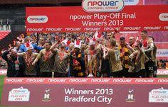 Bradford City won the nPower Play Off Final #bradford #bradfordcityfc