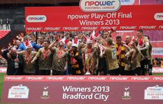 Bradford City won the nPower Play Off Final #bradford #bradfordcityfc