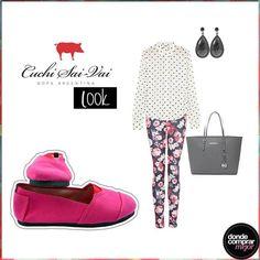 ¡Buen día! ¿Qué opinás de combinar estampas como en este outfit de Cuchi Sai-Vai? www.dondecomprarmejor.com/cuchi-sai-vai