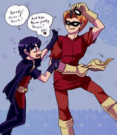 Young Justice - Speedy x Robin stolen mask by Cloud-Kitsune on DeviantArt
