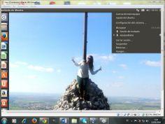 Tarea de virtualBox con ubuntu. Esta es una captura donde se ve un fondo de pantalla en el ordenador virtual.