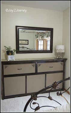 Murphy Bed that looks like a dresser! Perfect for a small guestroom