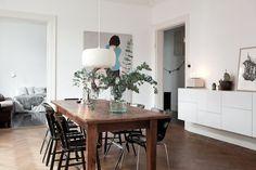 The lovely serene home of a Swedish singer | my scandinavian home | Bloglovin'