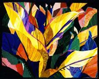 Big Leaves, Cannas by Katie Pasquini Masopust