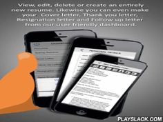 Build Auto- IResumes,CV&Letter  Android App - playslack.com ,  iResumes maker app helps you create professional resumes in 5 minutes by following step by step resume build wizard! You can create multiple resumes and organize them easily. Creating Thank You letter and Follow Up letter is very simple using iResumes maker app. The created resume can be send as email and downloaded in PDF format. Furthermore, you can make your resumes offline as well. Below are the more features available with…