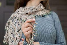 Emergence Shawl by Kathryn White, Interweave Crochet Fall 2013