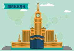 Makkah Flat Design Vector - https://www.welovesolo.com/makkah-flat-design-vector/?utm_source=PN&utm_medium=wesolo689%40gmail.com&utm_campaign=SNAP%2Bfrom%2BWeLoveSoLo