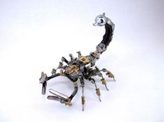 Steampunk animal and insect sculptures by Igor Verniy - ego-alterego.com