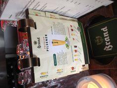 Brand bier handboek bij cafe Pol (Rotterdam) #brandbier