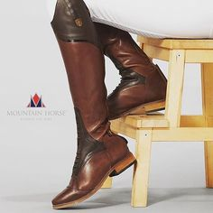 What one word comes to mind when you see Mountain Horse Sovereign Field Boots? Leave a comment to let us know.