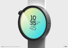 2424 Time Experience by maxence couthier, via Behance
