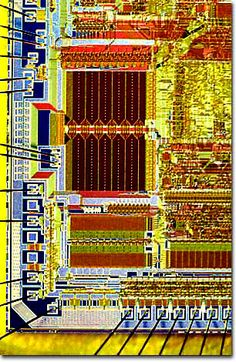 Molecular Expressions: Chip Shots - AMD Integrated Circuits - 286 Microprocessor
