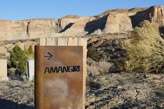 Here's what it's like to stay in a Desert View Suite at one of the world's most luxurious resorts, Amangiri, in Utah. Amangiri Resort Utah, Property Signs, Architectural Signage, Canyon Park, Desert Design, Hiking Fashion, Luxury Marketing, Signage Design, Travel And Leisure