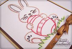• Sweet Handmade •: Broderie pe Hartie