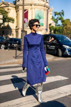 The Best Street Style at Paris Fashion Week - HarpersBAZAAR.com