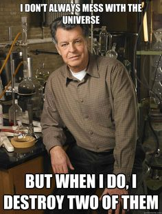 Fringe meme | Walter Bishop Quotes