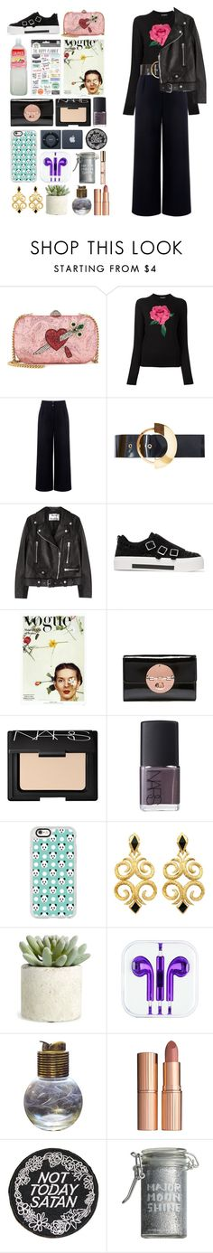 """""""5.440"""" by katrina-yeow on Polyvore featuring Gucci, Dolce&Gabbana, Être Cécile, Roksanda, Acne Studios, Alexander McQueen, NARS Cosmetics, Casetify, Allstate Floral and Evans"""