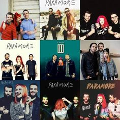 paramore is taylor york, jeremy davis, and hayley williams Paramore is love, Paramore is life haha