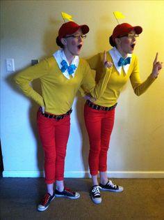 Tweedle Dee & Tweedle Dum.