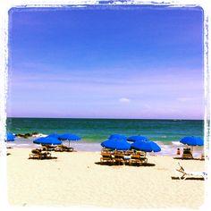 Relax.....! Condado Beach! #SanJuanMarriott and #MyWaytoSanJuan