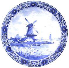 Classic Delftware.