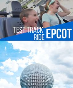 Fast Track ride at Epcot. My sons first experience on this thrilling Epcot ride. LadyandTheBlog.com #travel #familytravel #disney #epcot #vlog #forkids #family