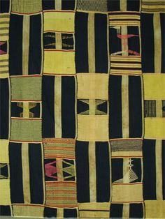 .Ewe textile detail, Ghana