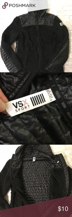 VSX Sport - women's zip up Size medium women's black zip up jacket. Excellent condition, Victoria's Secret Jackets & Coats