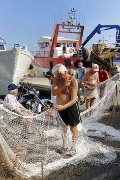 La criée aux poissons à Sète.