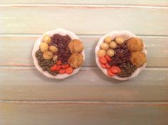 Miniature 112 scale food  Mince and dumplings by DinkyDinerMinis