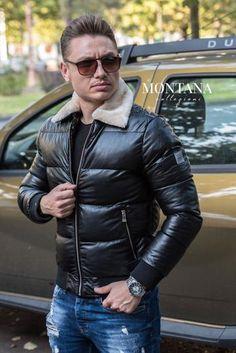 Geaca CB Black Leather Jacket, Jackets, Black, Fashion, Studded Leather Jacket, Down Jackets, Moda, Leather Jackets, Black People