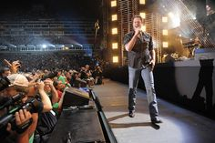 Blake Shelton at Nashville's LP Field I want to meet Blake one day