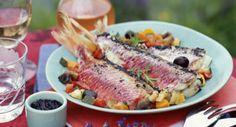 Filets de rougets aux petits légumesVoir la recette des Filets de rougets aux…