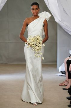 Carolina Herrera Spring 2013 Bridal