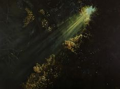 oil on canvas, 122 x 91 cm. Oil On Canvas, Northern Lights, Paintings, Nature, Artwork, Travel, Naturaleza, Work Of Art, Viajes