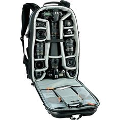 Buy the Lowepro Vertex 300 AW Camera/Laptop Backpack at eBags - A professional photographer or photojournalist can move through any crowd with ease with all their e