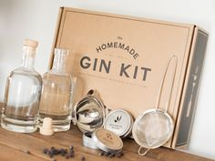 Cool Gifts for Guys, The HomeMade Gin Kit, The Grommet.......sam, jesse