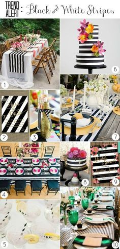 trend_black and white stripes