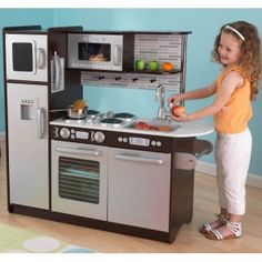 41 best play kitchens images play kitchens wooden play kitchen rh pinterest com
