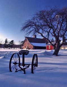 winter pictures ON A FARM | Winter Farm - Marc Schneider / snow